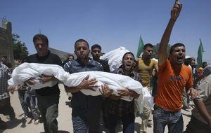 Jornada negra en Gaza: pierde su única central eléctrica y hay más de cien muertos
