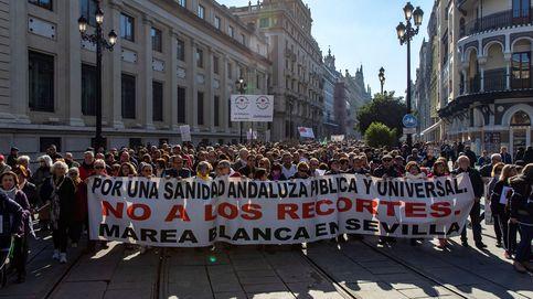 Más de 7.000 andaluces salen a la calle para defender la Sanidad Pública