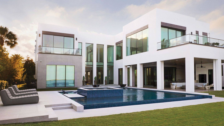 La espectacular mansión de Serena Williams (Architectural Digest / Foto: Lelanie Foster)