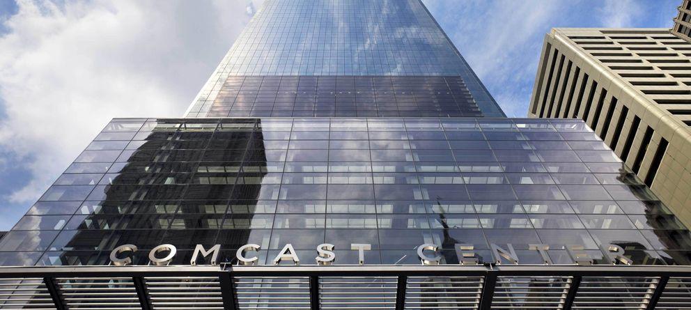 Foto: El edificio Comcast Center, en Philadephia (EEUU)