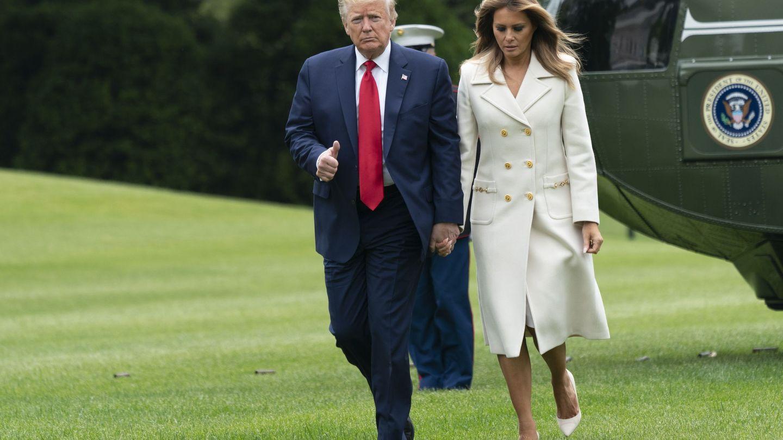 Donald y Melania Trump. (EFE)