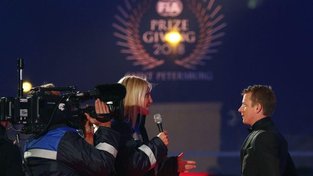 Foto: Raikkonen, antes de la gala. (Reuters)