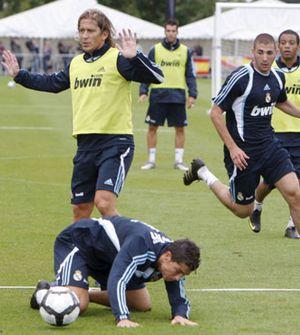 Pepe se ausenta de un entrenamiento con piques