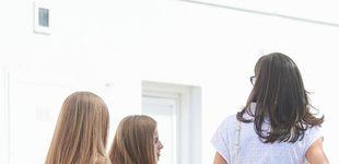 Post de El jersey que comparte la reina Letizia con Leonor y la infanta Sofía