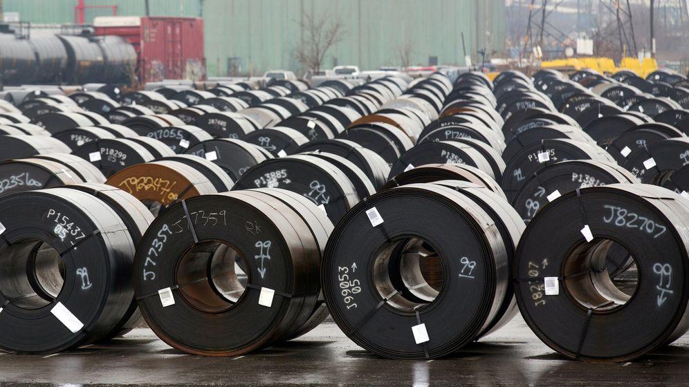 Foto: Producción de ArcelorMittal en Canadá. (Reuters)
