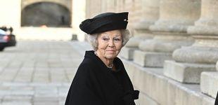 Post de De Beatriz de Holanda a la baronesa Thyssen: todos los asistentes al funeral de doña Pilar