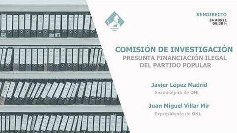 Comisión de Investigación de la financiación ilegal del PP