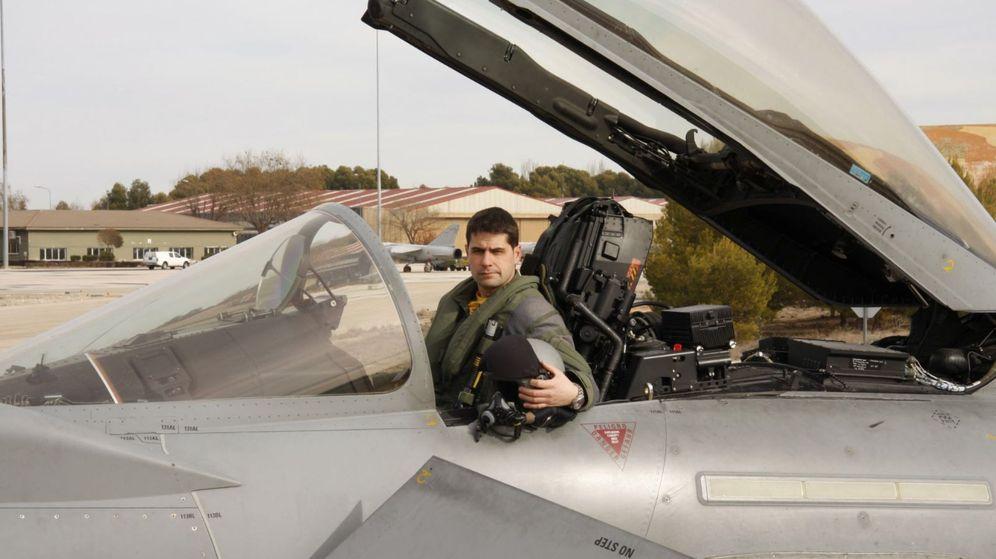 Foto: El capitán del Ejército del Aire Borja Aybar, fallecido este jueves. (EFE)