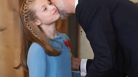 La princesa Leonor recibe el Toisón de Oro: todas las fotos de la ceremonia en el Palacio Real