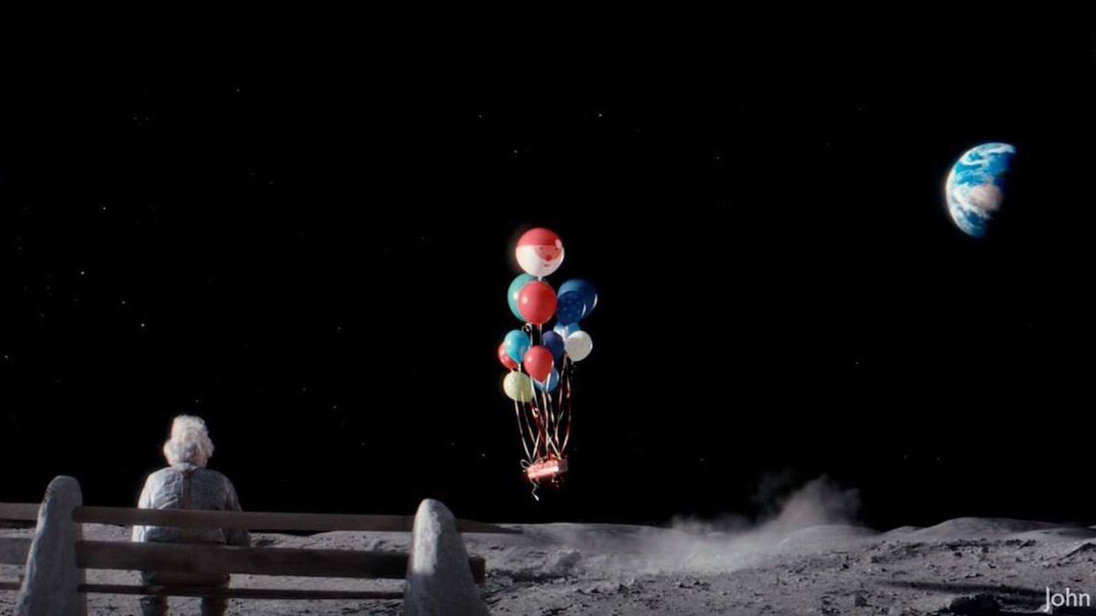 Foto: Un fotograma del anuncio de John Lewis (captura de YouTube)