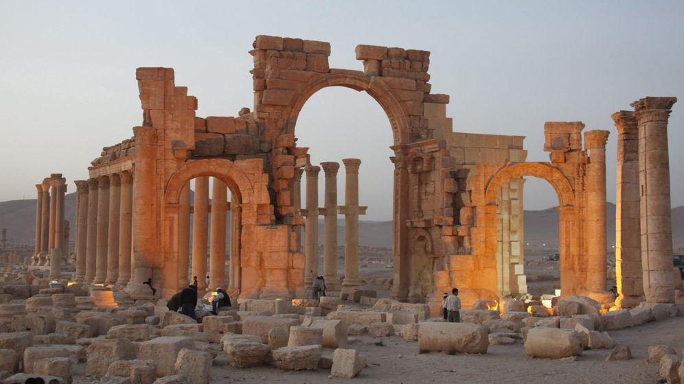 Foto: Palmira, una de las joyas arqueológicas de Oriente Medio, amenazada por el ISIS (EFE)