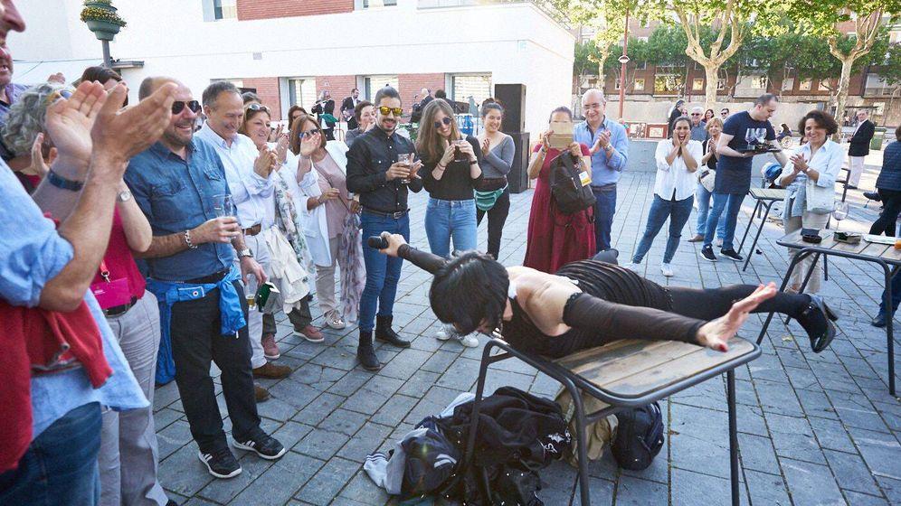 Foto: Una de las obras callejeras del Festival de Teatro de Valladolid. (Foto: Festival Valladolid)