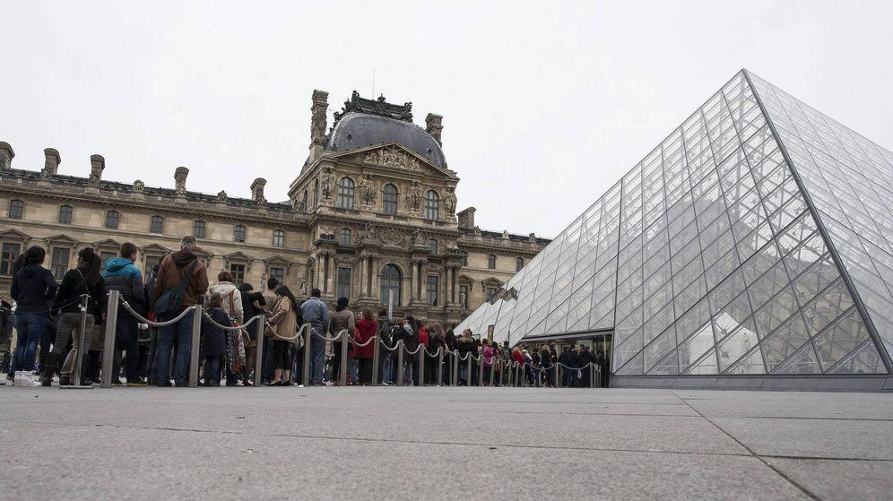 Foto: El Museo del Louvre vuelve a ser el más visitado: recibió 8,1 millones de visitantes en 2017. (EFE)