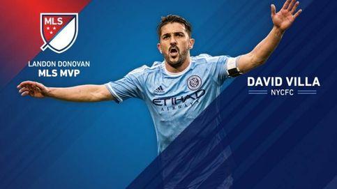 David Villa es nombrado MVP de la liga de los Estados Unidos