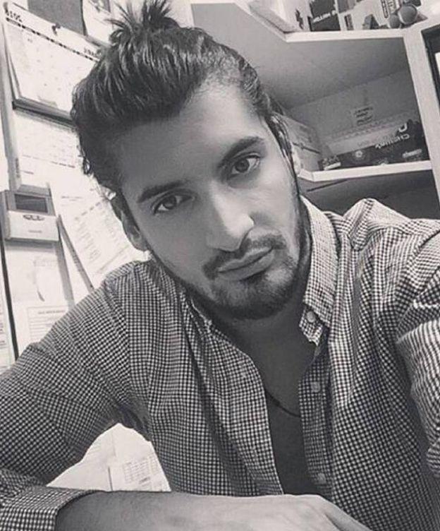 Foto: Joaquín Monroy de la Peña, amigo de Froilán, en una imagen de su perfil de Instagram