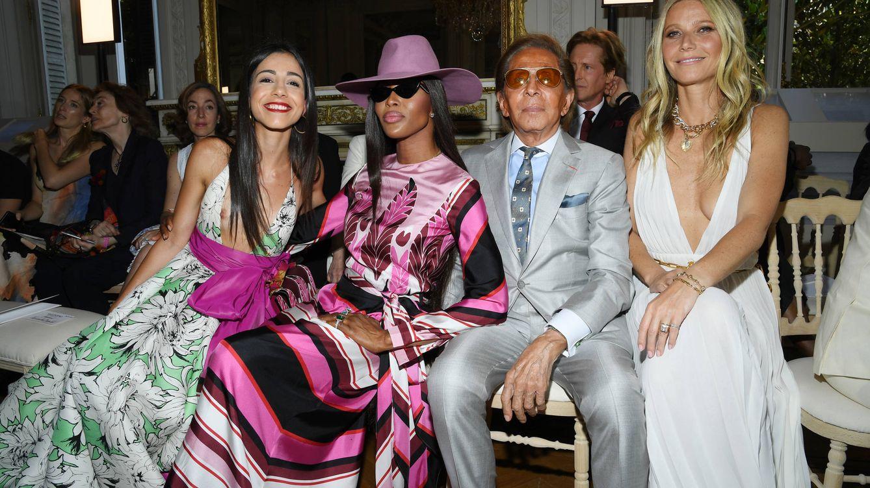 Naomi, Céline y Gwyneth acuden al desfile de alta costura de Valentino