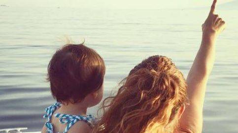 Así son las primeras vacaciones de Pastora Soler con su hija