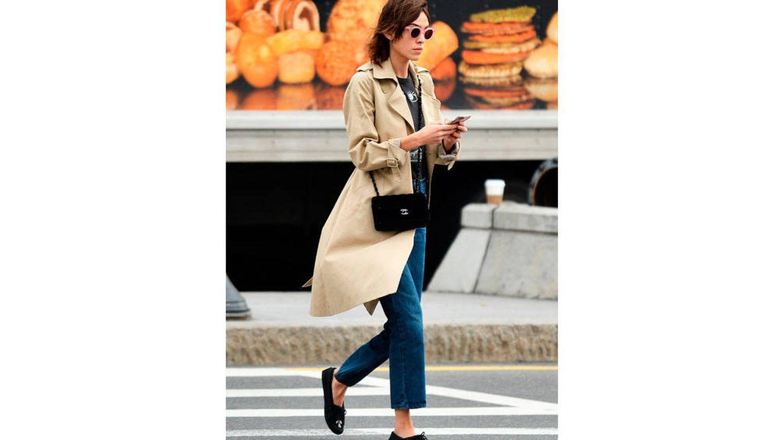 Alexa Chung paseando por Nueva York.