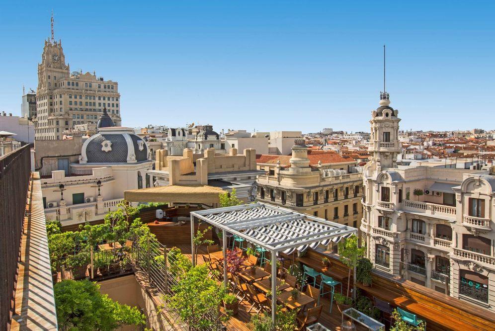 Foto: Ático 11, una tentadora terraza bajo el cielo de Madrid. (Foto: Cortesía)