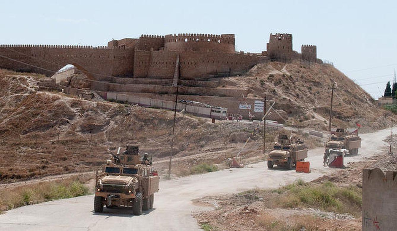 Castillo de Tal Afar, al norte de en Irak, uno de los hitos del patrimonio que ha sufrido las consecuencias de los enfrentamientos. (U.S. Army Photo)
