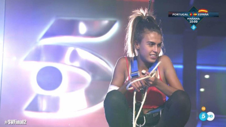 Sofía Suescun, en la final de 'Supervivientes 2018' (Telecinco)