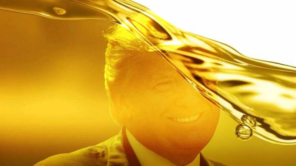 La caída de 'stock' de crudo en EEUU contiene la presión bajista de Trump y la OPEP