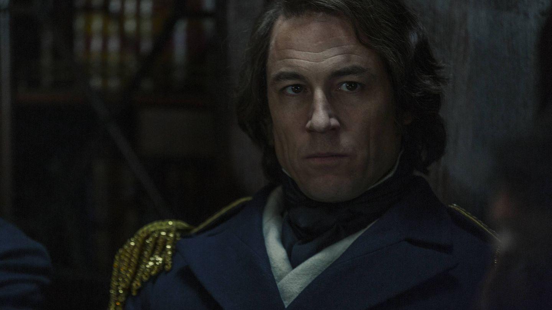 Secuencia de 'The Terror' con Tobias Menzies en el papel del Capitán Fitzjames. (AMC)