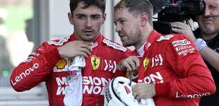Post de El rapapolvo del dueño de Ferrari a Sebastian Vettel y Charles Leclerc