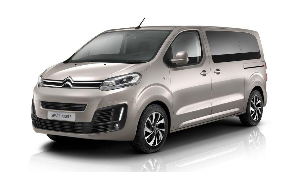 Citroën SpaceTourer, el vehículo polivalente con hasta nueve plazas