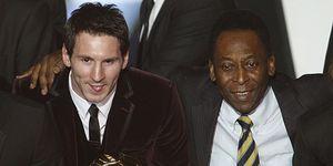 """Pelé recuerda a Messi quién es 'O Rei': """"Cuando haga 1.283 goles y gane 3 mundiales, hablamos"""""""