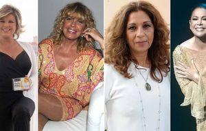 Pantoja, Lolita, Terelu y Bárbara Rey: cuatro mujeres y un futbolista