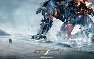Brad Pitt puede con los robots gigantes de 'Pacific rim'