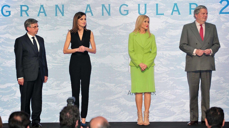 La Reina, durante los Premios Gran Angular. (Cordon Press)