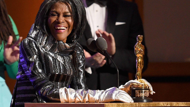 La actriz, con su Oscar en 2018. (Getty)