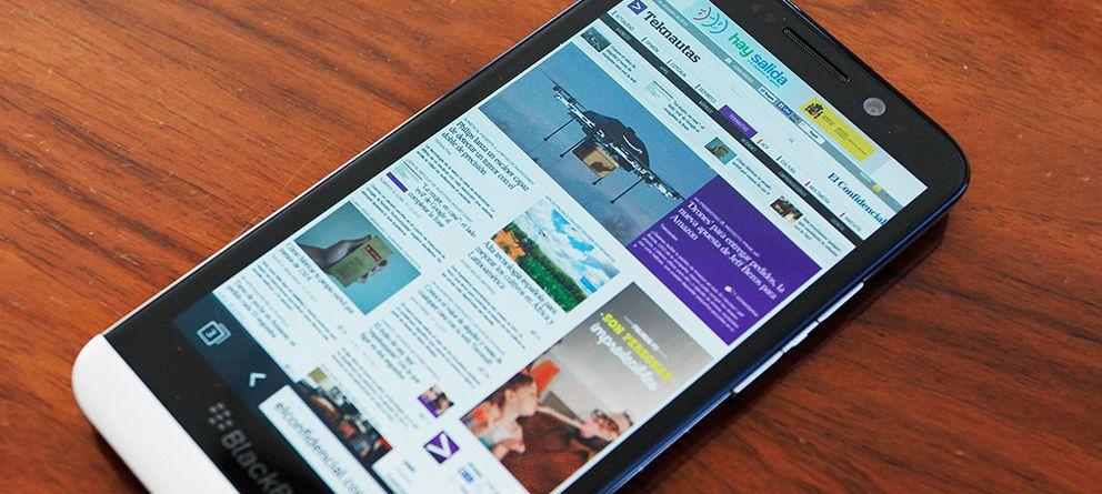 Foto: Probamos el BlackBerry Z30: ideal para 'workaholics'... y pocos más