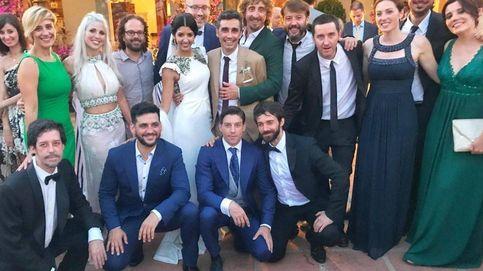 La divertida boda de Canco Rodríguez (el Barajas) y Marta Nogal