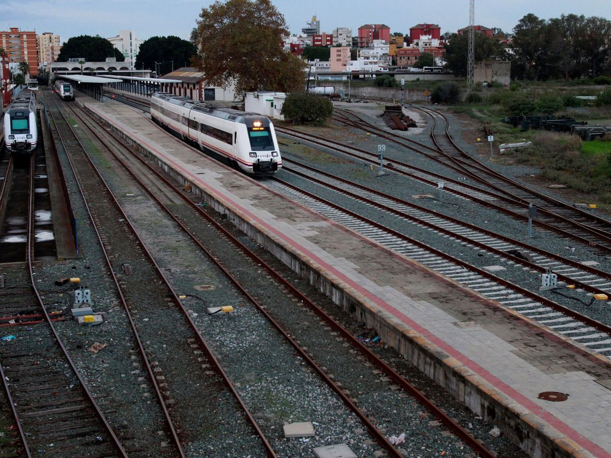 Foto: Un tren en España. (EFE)