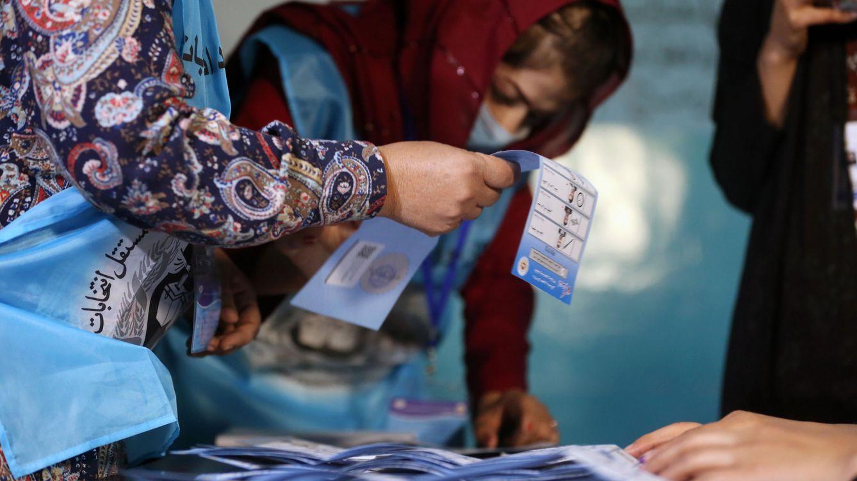 Foto: Afganistán cierra la jornada electoral. (EFE)