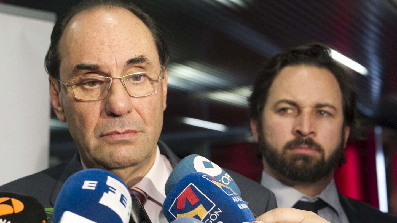 Vidal Quadras y Abascal. (Efe)