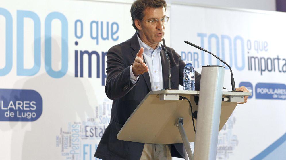 Foto: El presidente del PPdeG, Alberto Núñez Feijóo. (EFE)