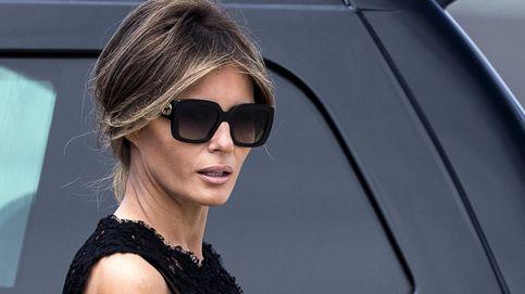 Melania Trump rescata el look con el que conoció al Papa