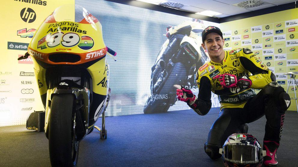 Luis Salom, el niño que se aficionó a las motos en la tienda de su abuelo
