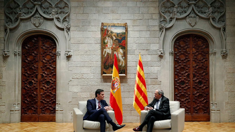 Foto: Sánchez y Torra (Reuters)