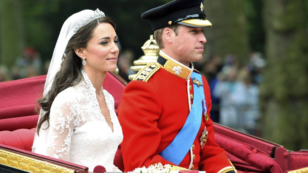 Foto: Boda del príncipe Guillermo y Kate Middleton.(EFE)