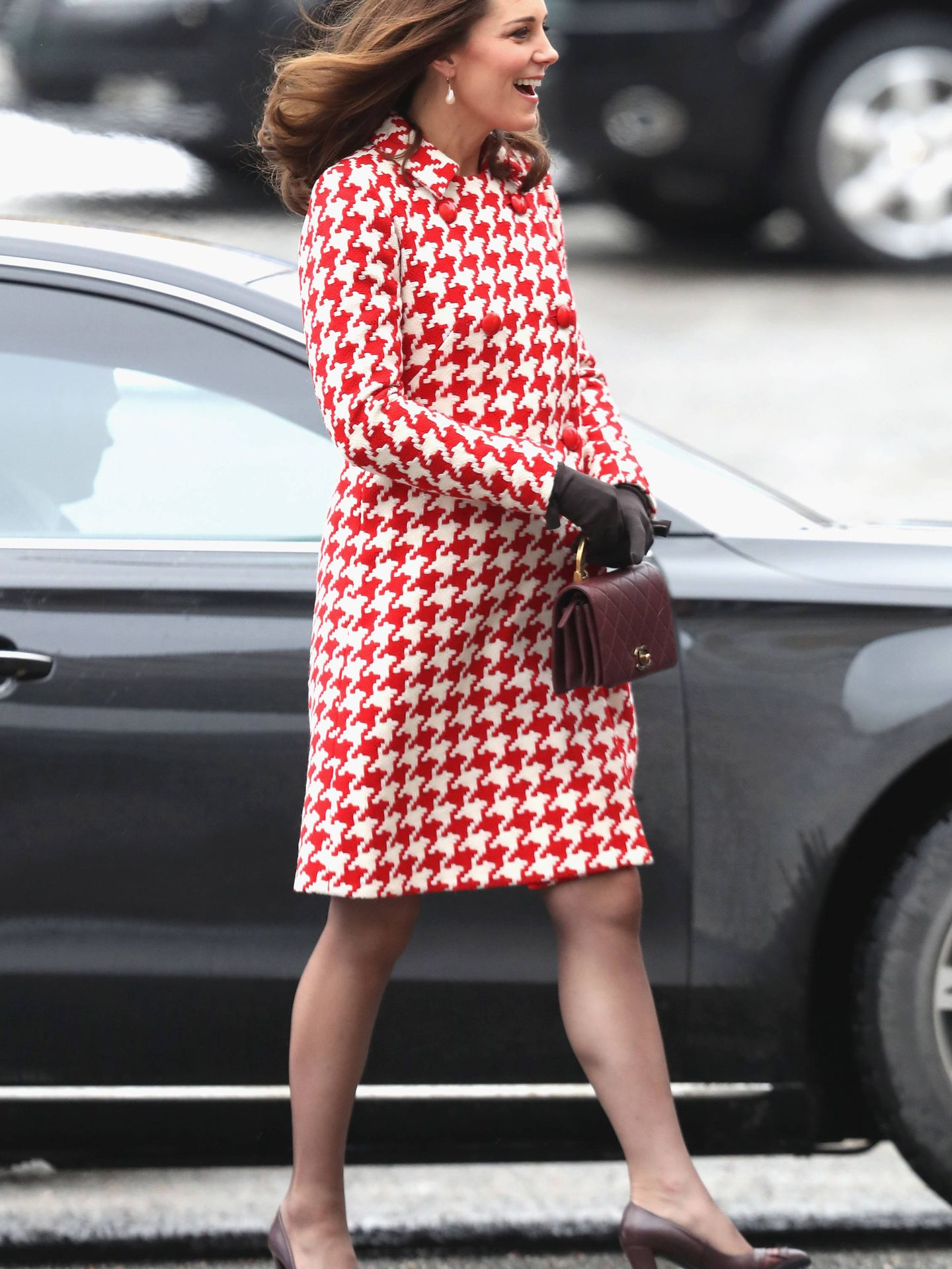 Kate en Estocolmo. (Getty)