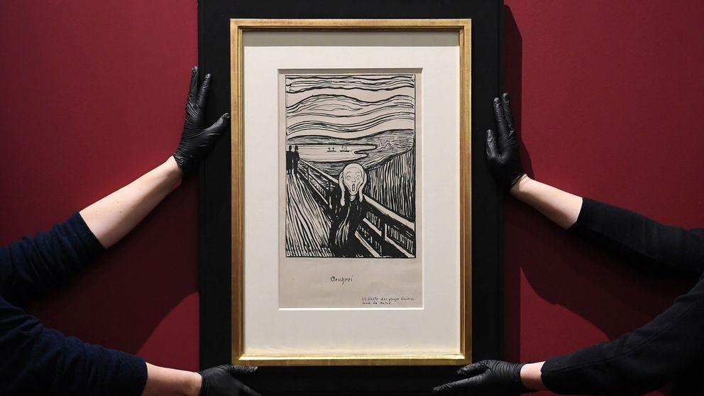 Detenido por falsificar obras de Edvard Munch, Eduardo Chillida y José Guerrero