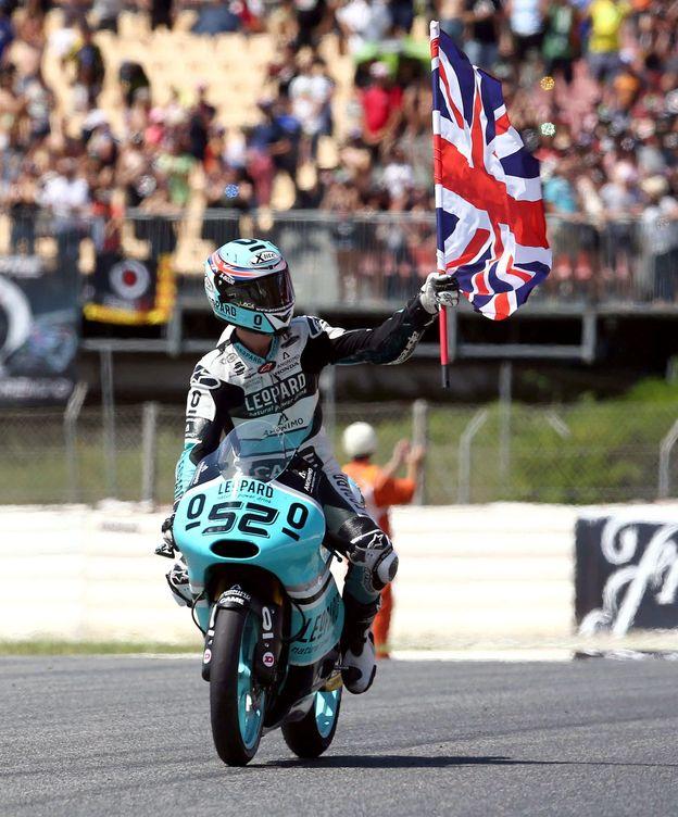 Foto: Danny Kent sigue mandando en la clasificación de Moto3 (Efe).