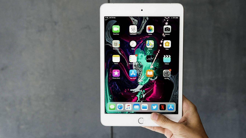 Foto: El nuevo iPad Mini. (M. Mcloughlin)