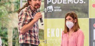 Post de De vencer al PNV a apenas superar al PP: así trituró Podemos el 80% de votos en 4 años