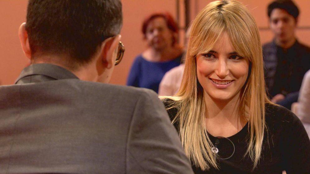 Foto: Alba Carrillo, invitada de Risto en 'Chester'. (Mediaset)